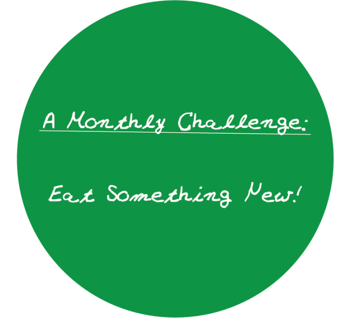 Eat something new