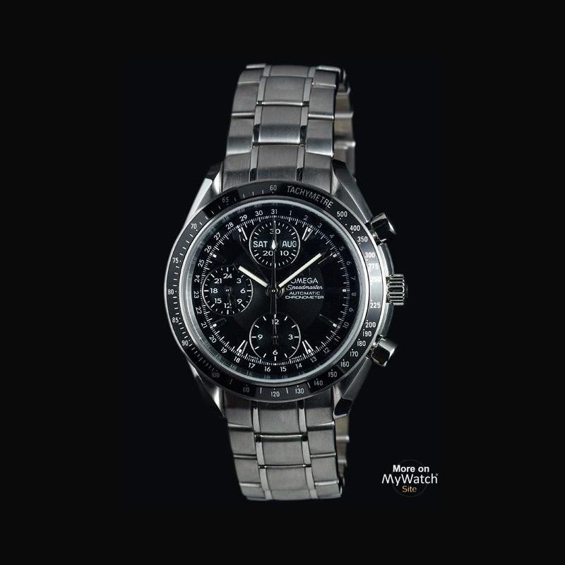 Watch Omega Speedmaster Day-Date | Speedmaster 3220.50.00 Steel - Steel Bracelet