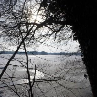 Sonnenschein über dem See