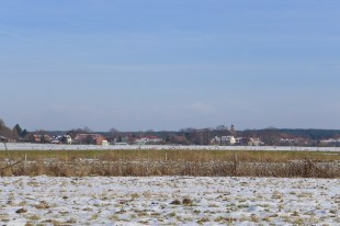 Blick auf den Dorfkern von Wildenbruch