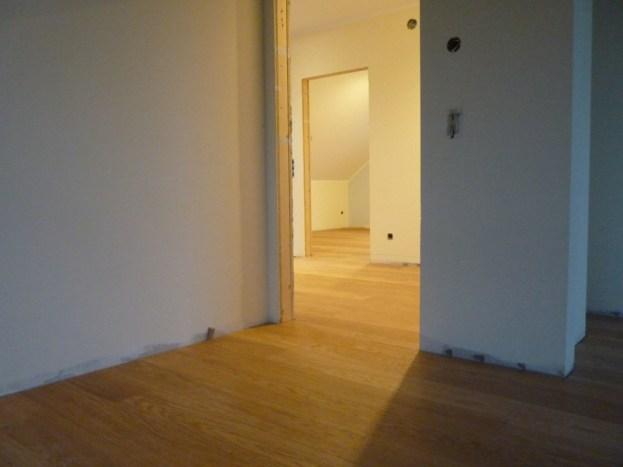Blick von Zimmer zu Zimmer
