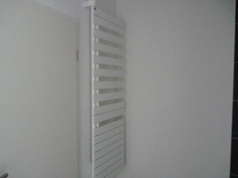 Handtuchhalter mit Lüfter für den Duschbereich