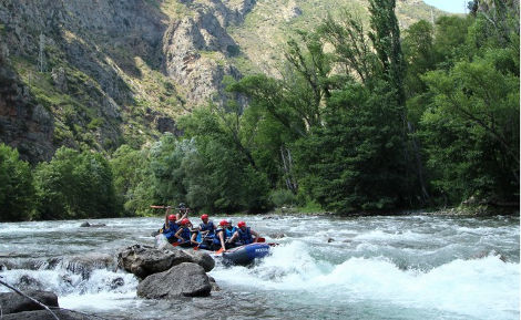Rafting Adventure Activity in Andorra