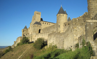 Carcassonne Medieval Castle France