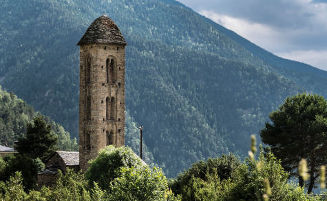 Romanic Church Engolatsers Andorra