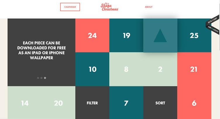 2020 website design trends - solid color blocks