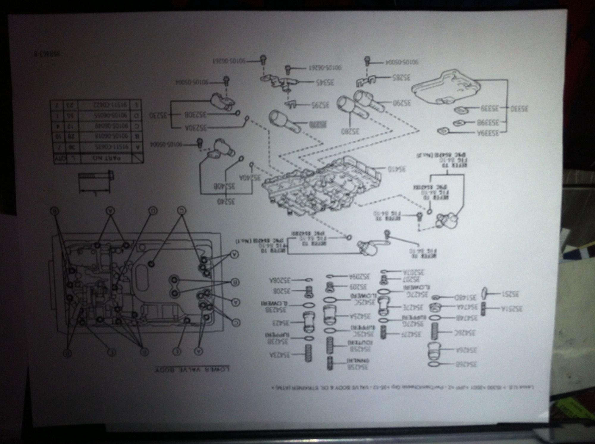 hight resolution of lexu rx300 shift solenoid