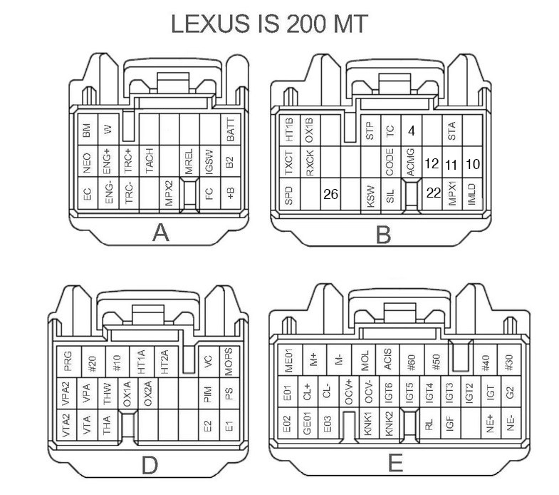 [DIAGRAM] Lexus Is200 User Wiring Diagram FULL Version HD
