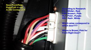 Amp Wire IdentificationHELP  Lexus IS Forum