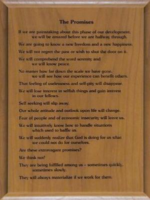 The Promises Wood Plaque