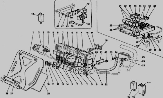 92 Ferrari 348 Wiring Diagram. . Wiring Diagram