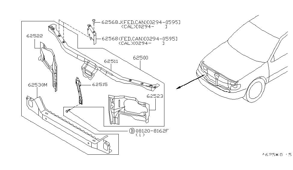 The 4thgen Maxima Definitive Radiator Core Support Thread