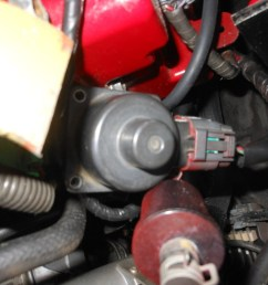 this one is a big deal as you will go into limp mode and can t rev over approx 3k rpms if you take this sensor out from under the hood ask me how i know [ 1500 x 1125 Pixel ]
