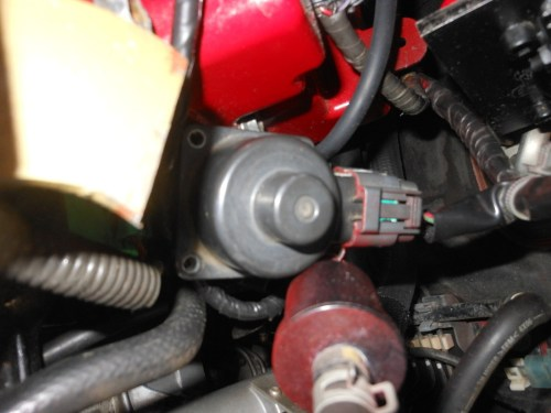 small resolution of this one is a big deal as you will go into limp mode and can t rev over approx 3k rpms if you take this sensor out from under the hood ask me how i know