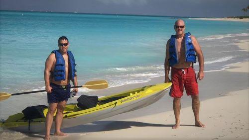 Turks and Cacois Ocen Club Resort Kayak