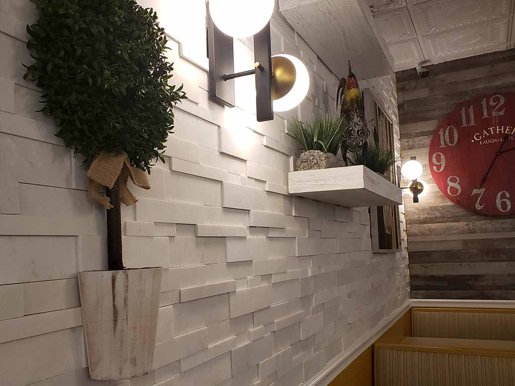Mama Zoes tile wall
