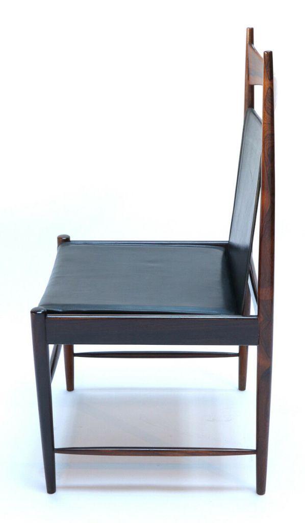 1960s Brazilian Jacaranda Cantu Chairs by Sergio Rodrigues Side 1