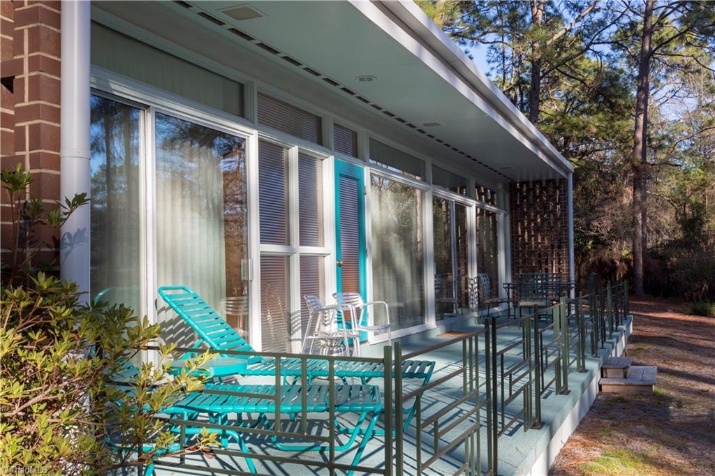 1959 Mid-Century Modern patio iron railing