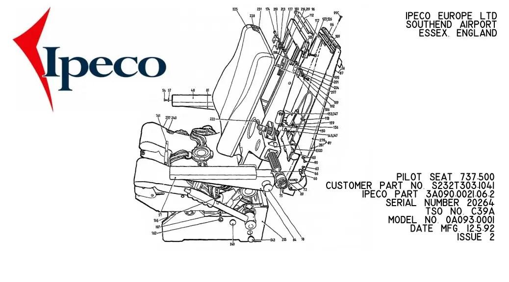 IPECO 737 PILOT SEAT • my737NG