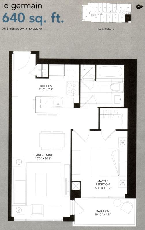 Floor Plans For 9t6 Condominium 9t6 Condo At 96 St Patrick Street