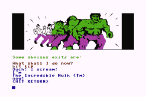 Adventure International's Incredible Hulk