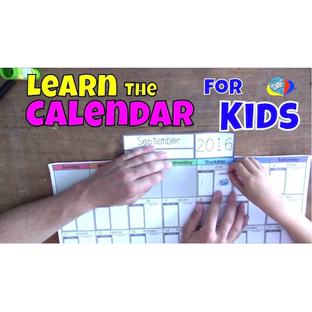 How To Learn The Calendar For Kids | Cool Math Kids
