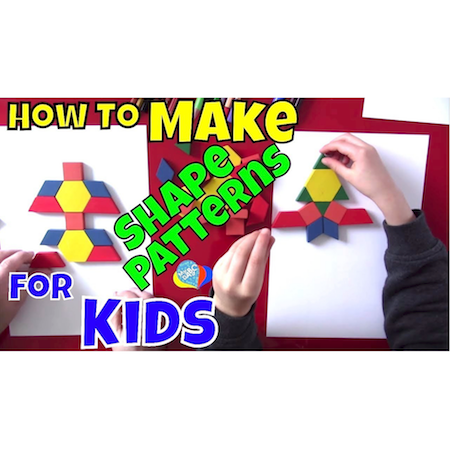 How To Make Fun Shape Patterns For Kids | Cool Math Kids