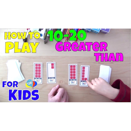 How To Play Numbers 10-20 Math Games | Cool Math Kids