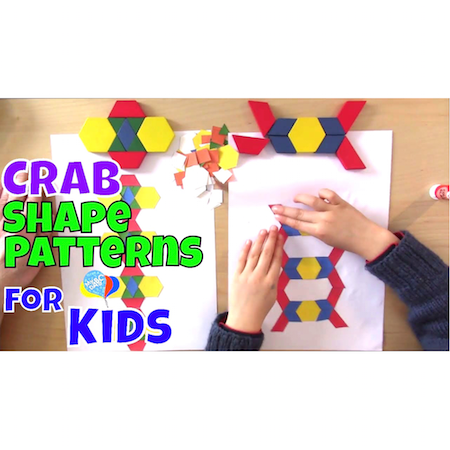 How To Make Paper Shape Patterns For Kids   Cool Math Kids