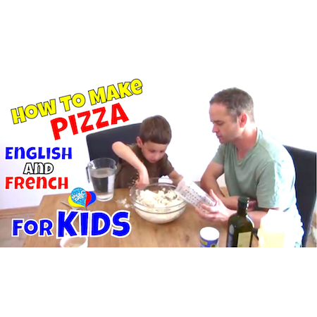 Pizza For Kids | Learn English And French For Kids