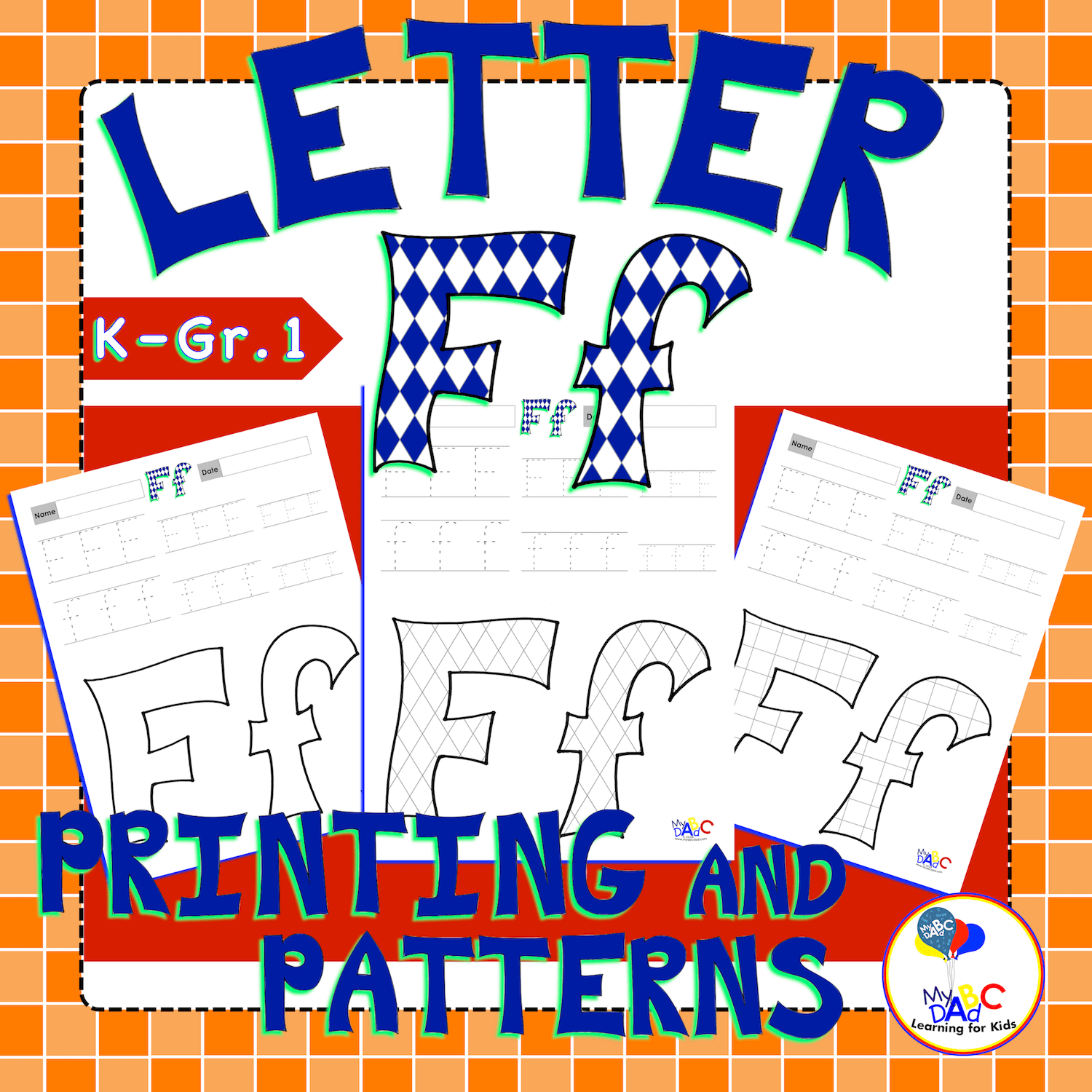 How To Draw And Learn Letter Ff For Kids