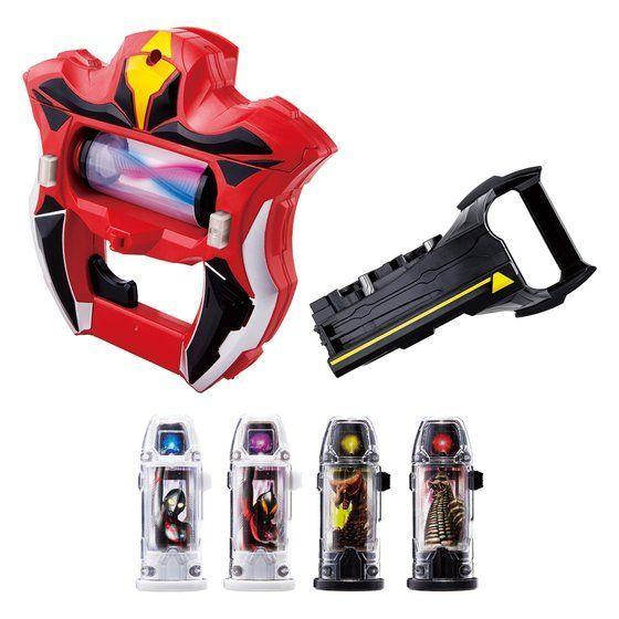 (參號倉庫) 現貨 BANDAI 萬代 超人力霸王 GEED 捷德 DX RAISER 變身器 基德   超人力霸王   日系玩具   買動漫