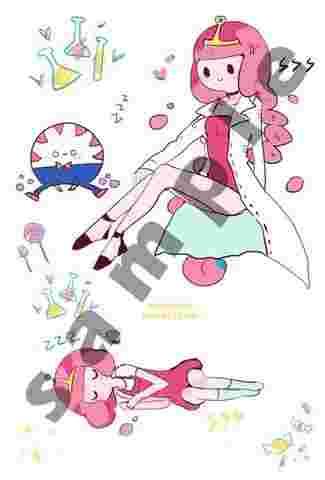 探險活寶-泡泡糖公主貼紙   同人2創   同人周邊   買動漫