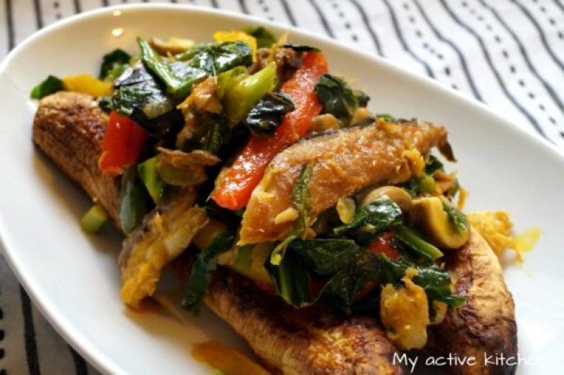 how to make roasted plantain