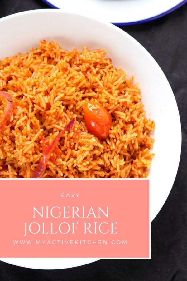 Nigerian Jollof rice recipe in easy steps. This Jollof rice recipe uses basmati rice