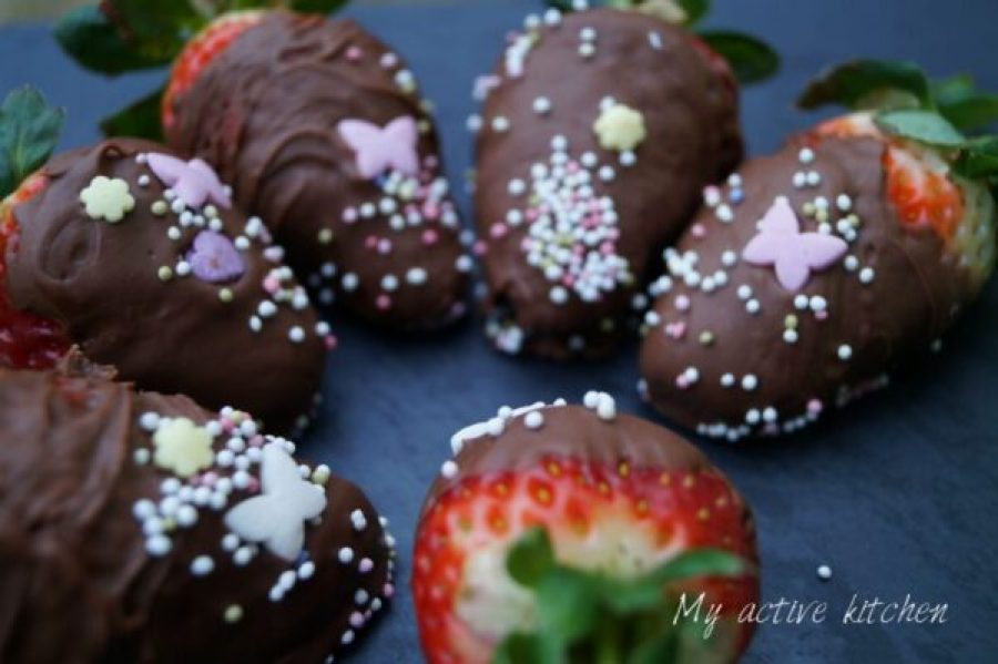chocolate dipped straberry recipe