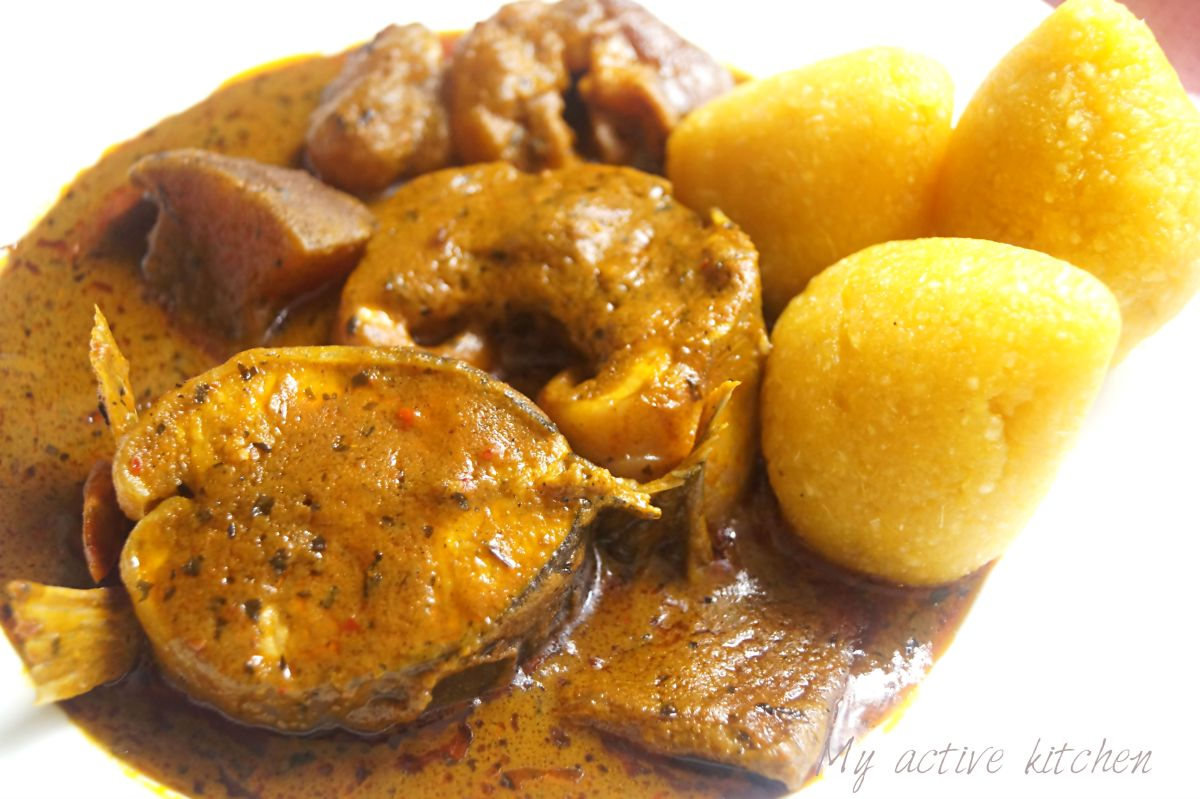 Banga Soup (Niger-Delta way)