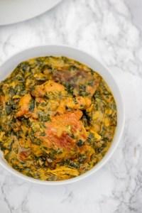 bitter leaf soup.
