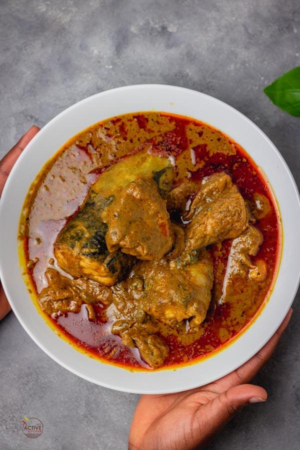 Nigeria Niger-delta Banga soup.