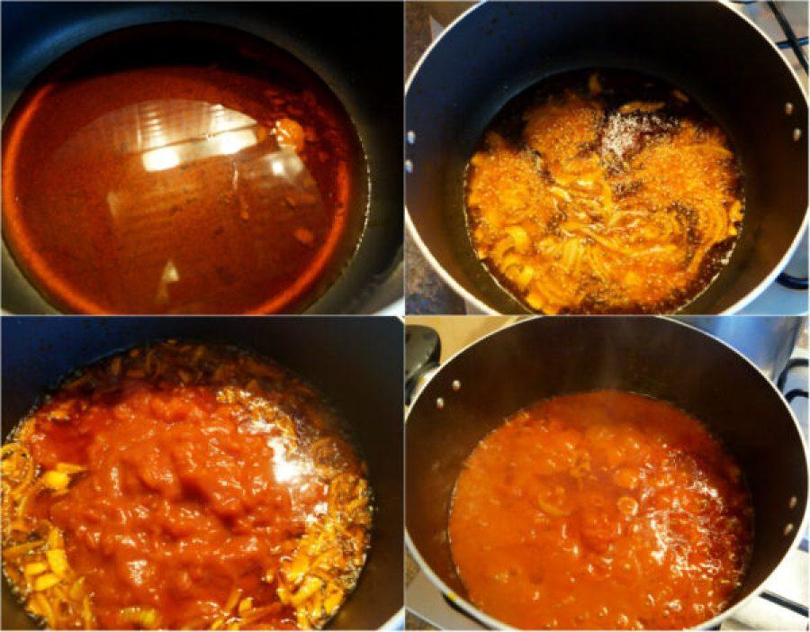 palm oil in a pot