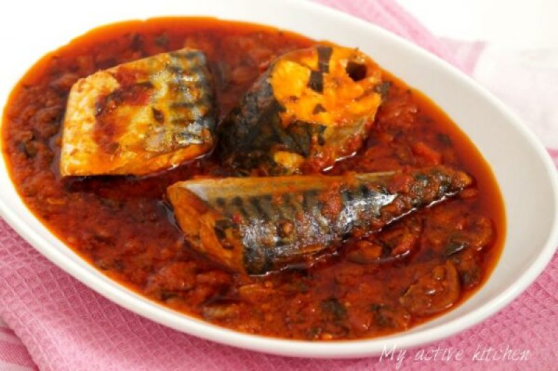 how to cook mackerel stew