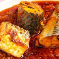 Easy Mackerel tomato stew