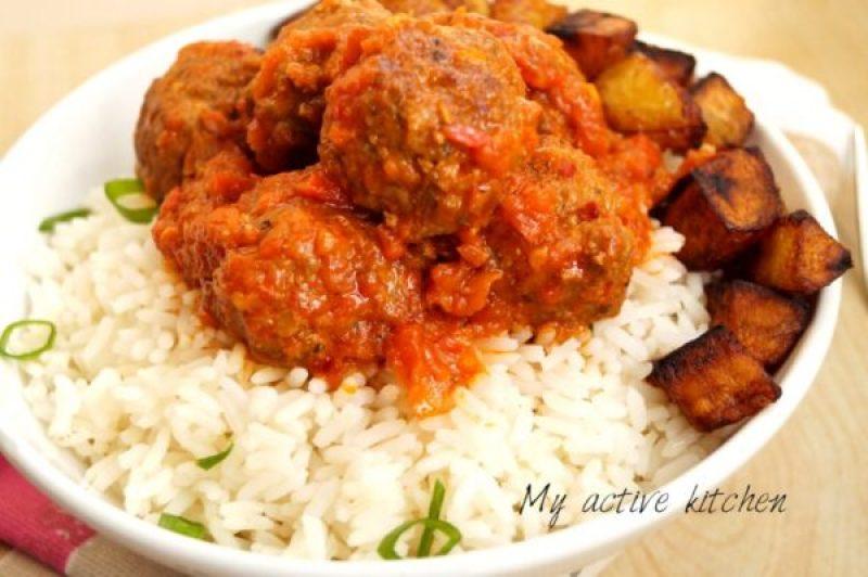 nigerian meatballs recipe