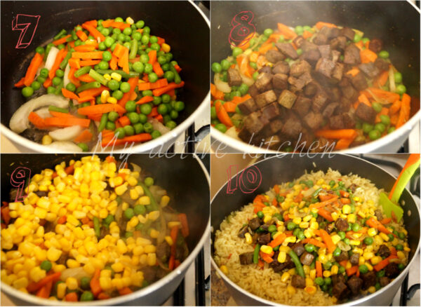 vegetable and mixed vegetables