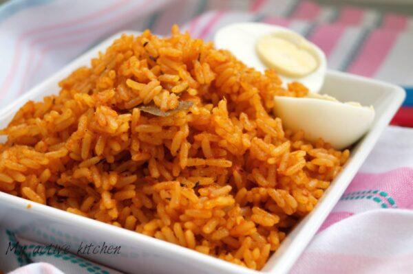 Jollof rice for fussy kids my active kitchen jollof rice for fussy kids ccuart Choice Image