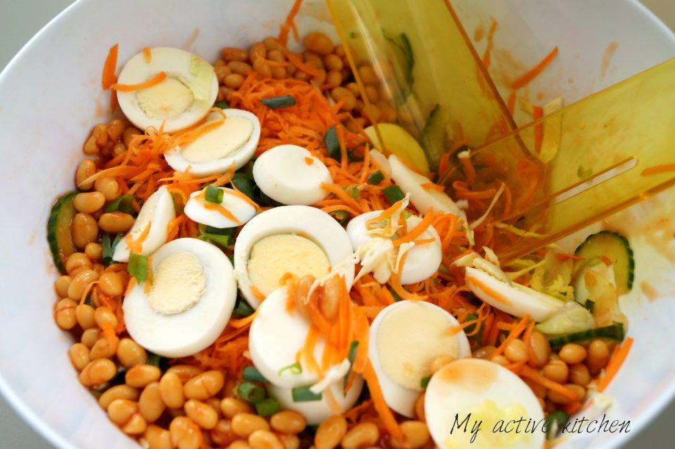 Nigerian salad for Christmas.