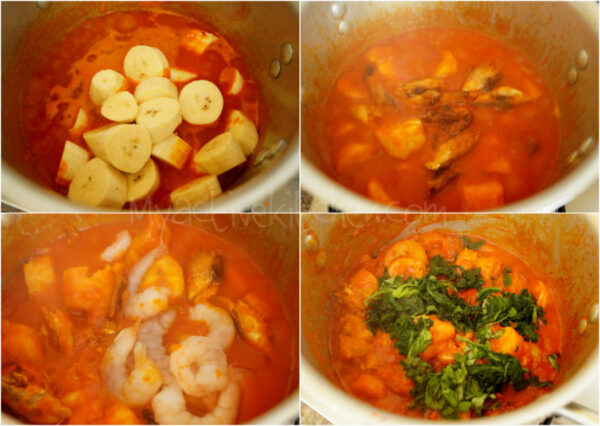 cooking process