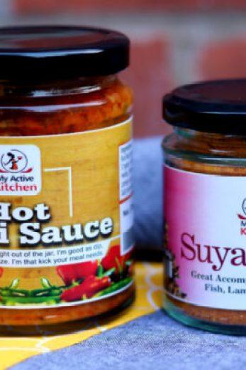 My active kitchen spices