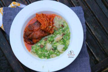 how to cook plain okra
