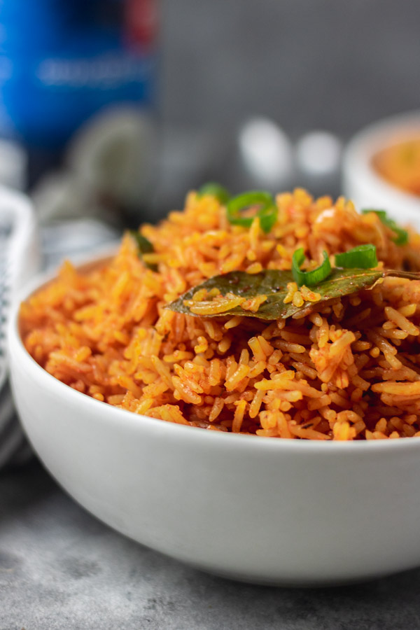 a cropped shot of a bowl of rice